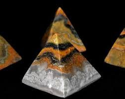Bumble Bee Jasper Pyramid