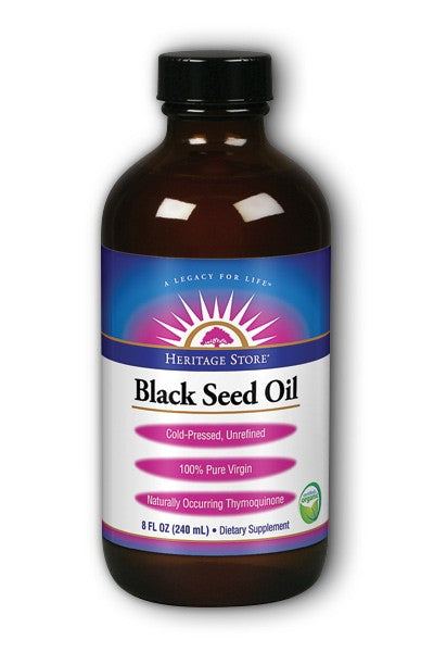Heritage Black Seed Oil 8 oz