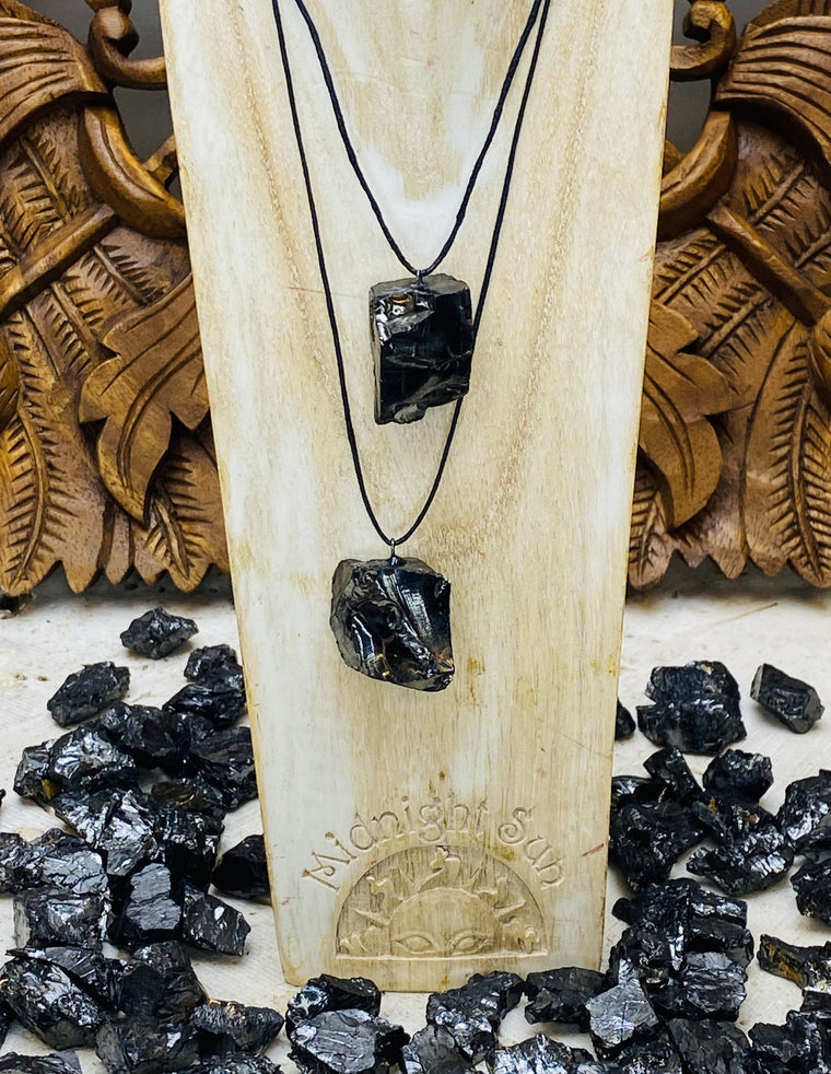 Raw Nobile Elite Shungite Pendant