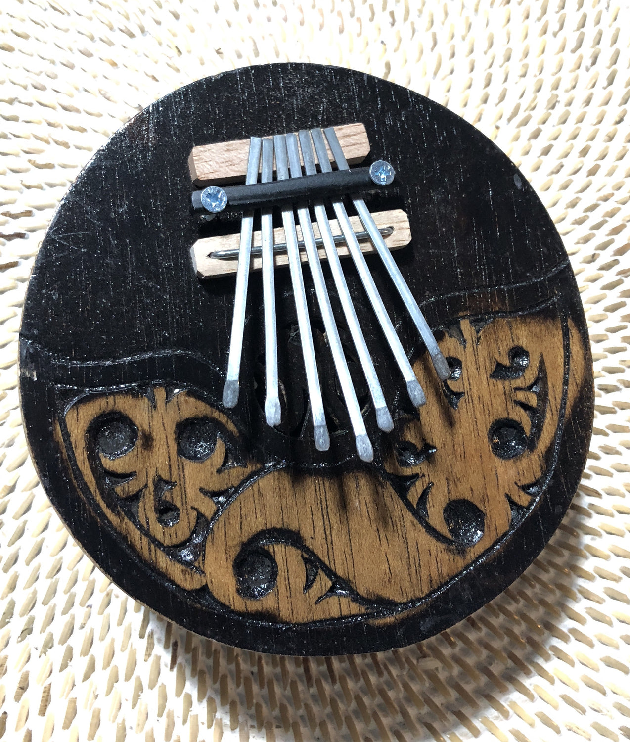 Hand Carved Thumb Piano / Kalimba