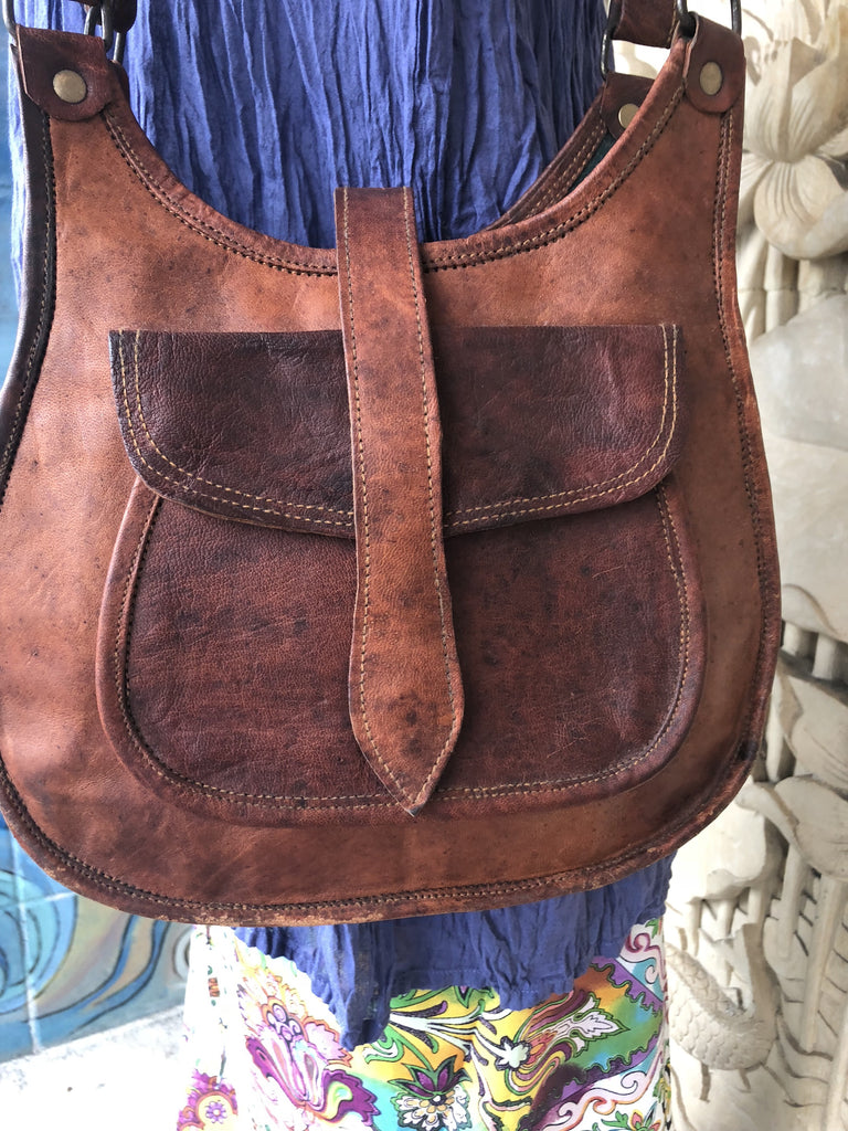 Hand Made Camel Leather Purse