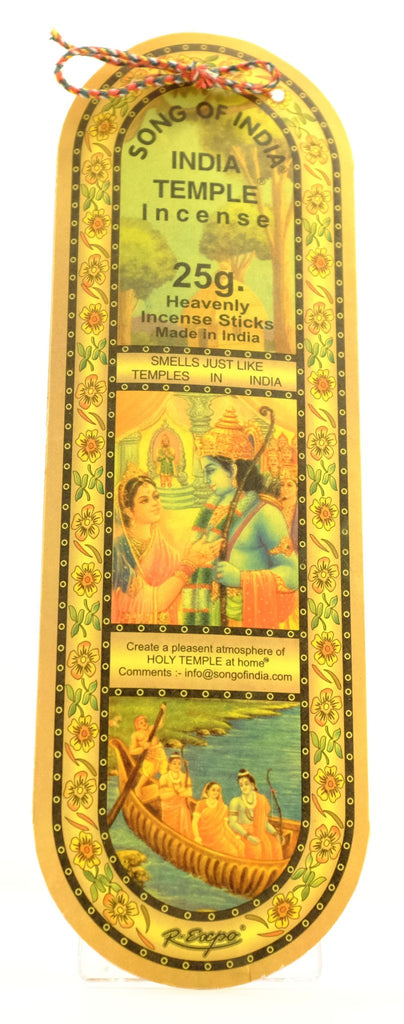 India Temple Incense & Oil Collection