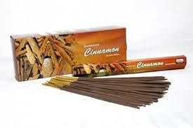 Darshan Cinnamon incense 20 stick Hex Pack
