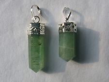 Aventurine Crystal Point Pendant