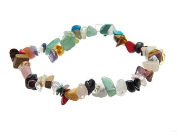 Stretchy Stone Chip Bracelets - Available in 25 Stones