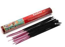 Darshan Amber Incense 20 Stick Hex Pack