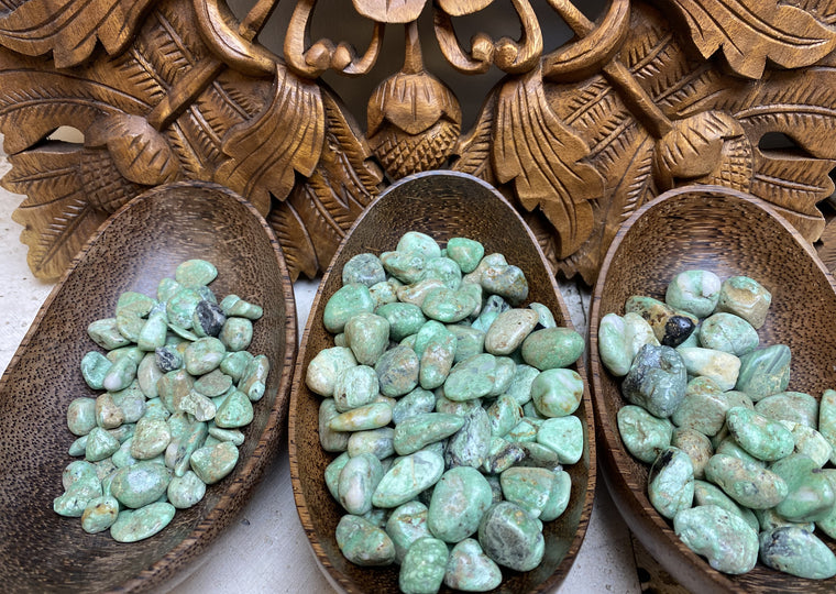 Tumbled Variscite from China - 3 sizes Available