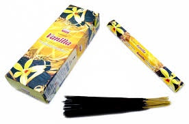 Darshan Vanilla Incense 20 Stick Hex Pack