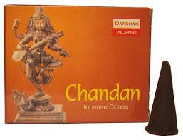 Darshan Chandan Incense Cones