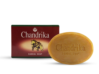 Chandrika Ayurverdic Sandalwood Bath & Body Soap 75 gms