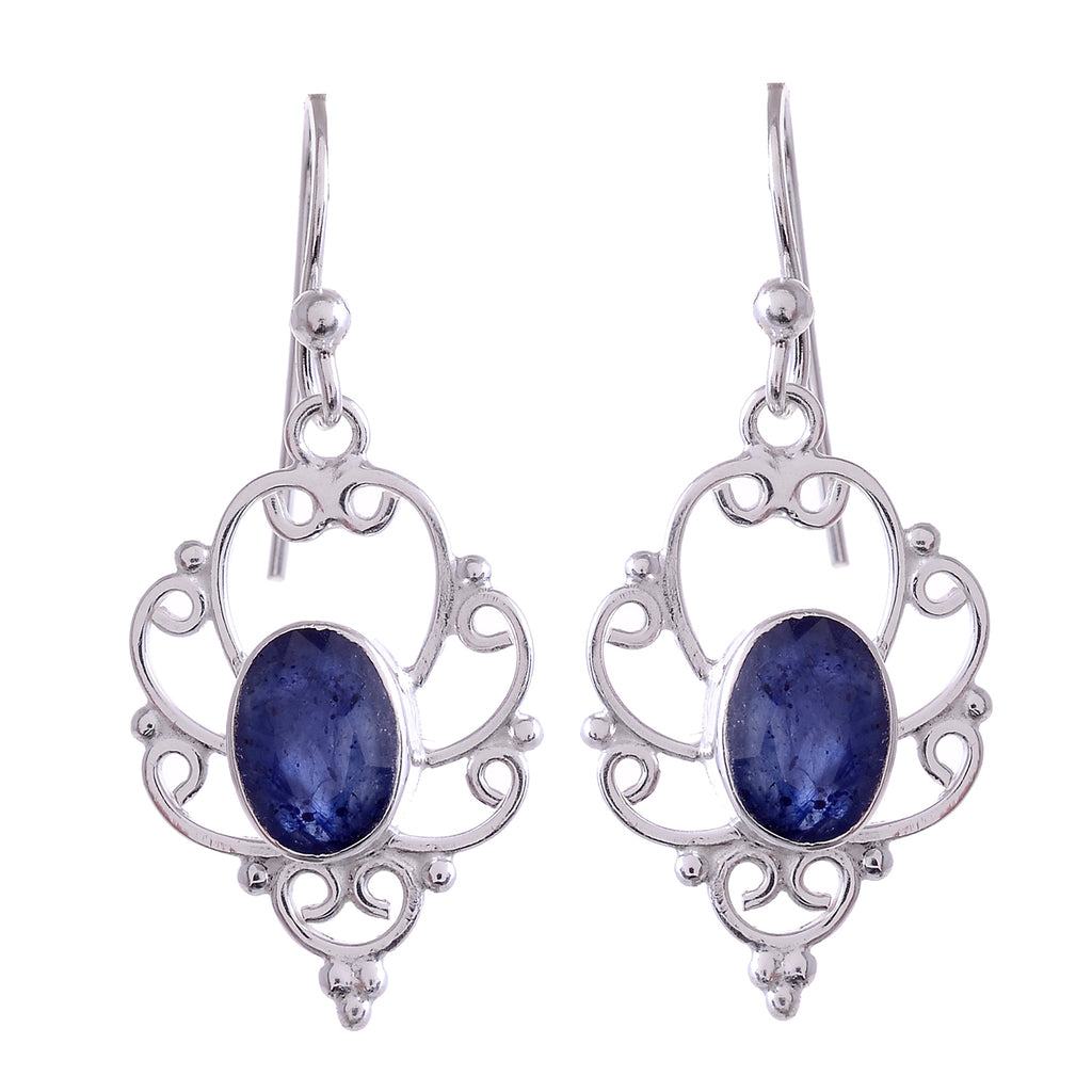 Sterling Silver Gemstone Earrings - Available in 9 Stones