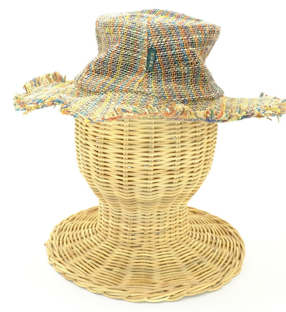 Woven Hemp Moldable Festival Hats