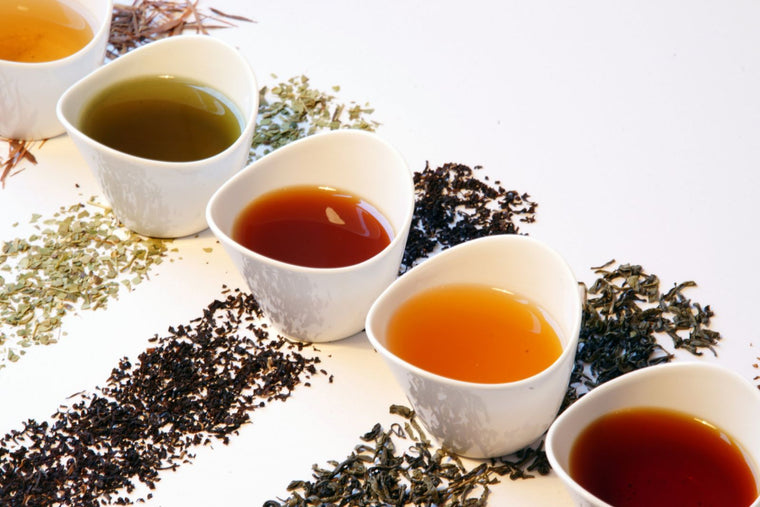 All Organic Black, Red, Green Teas Blends, Mate & Chai Tea Blends