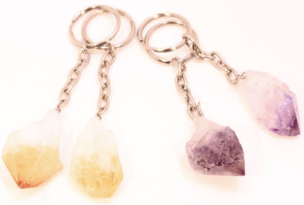 Gemstone Keychains 4 Designs!
