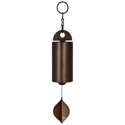 Hand Tuned Heroic Windbell - Medium, Antique Copper