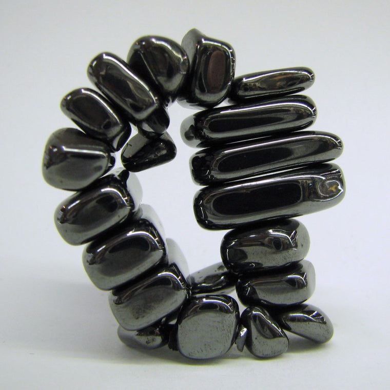 Set of Magnetic Large Hematite Tumbles
