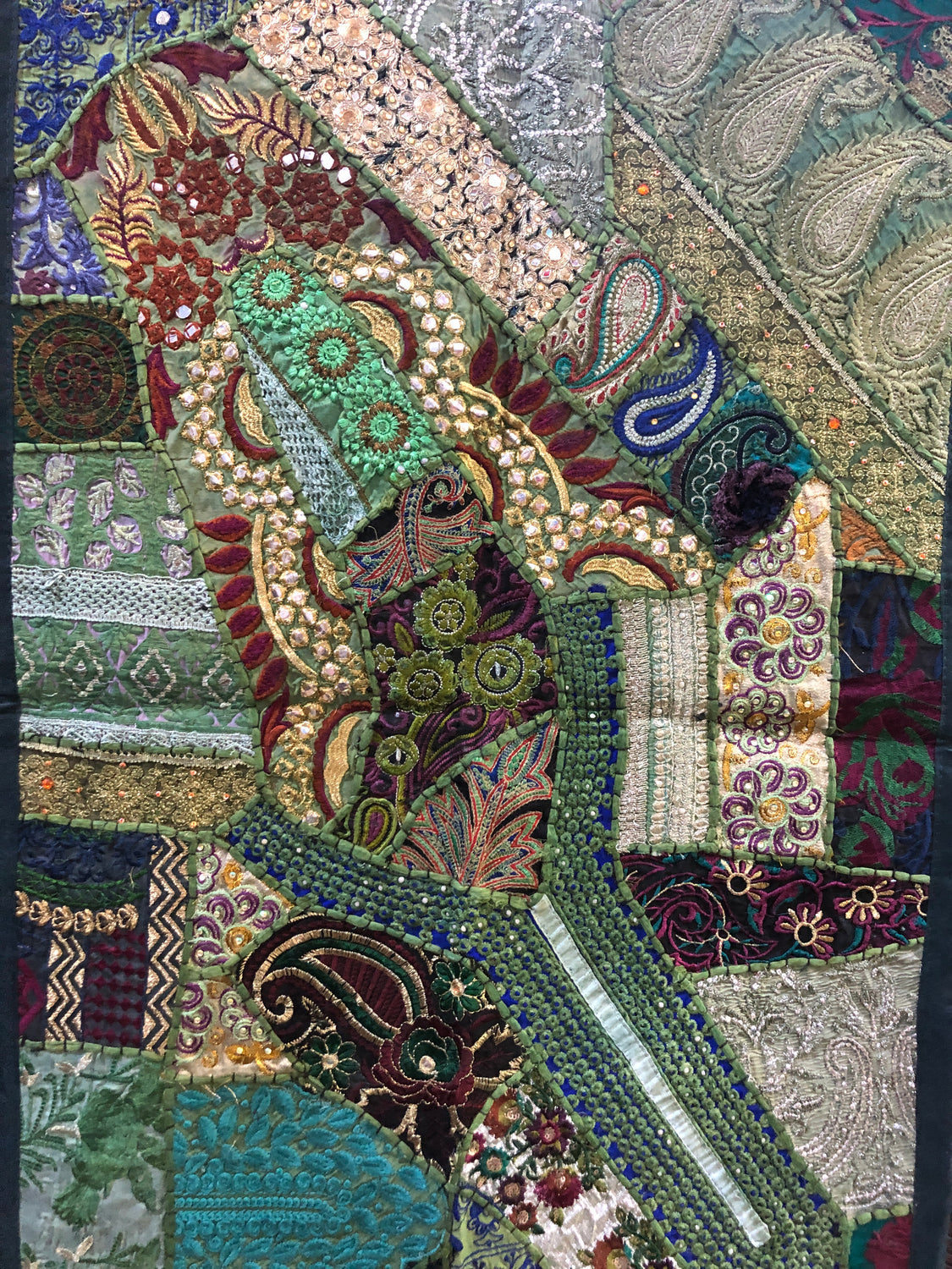 "Rajathani Patchwork Wall Hangings 24"" x 36"""