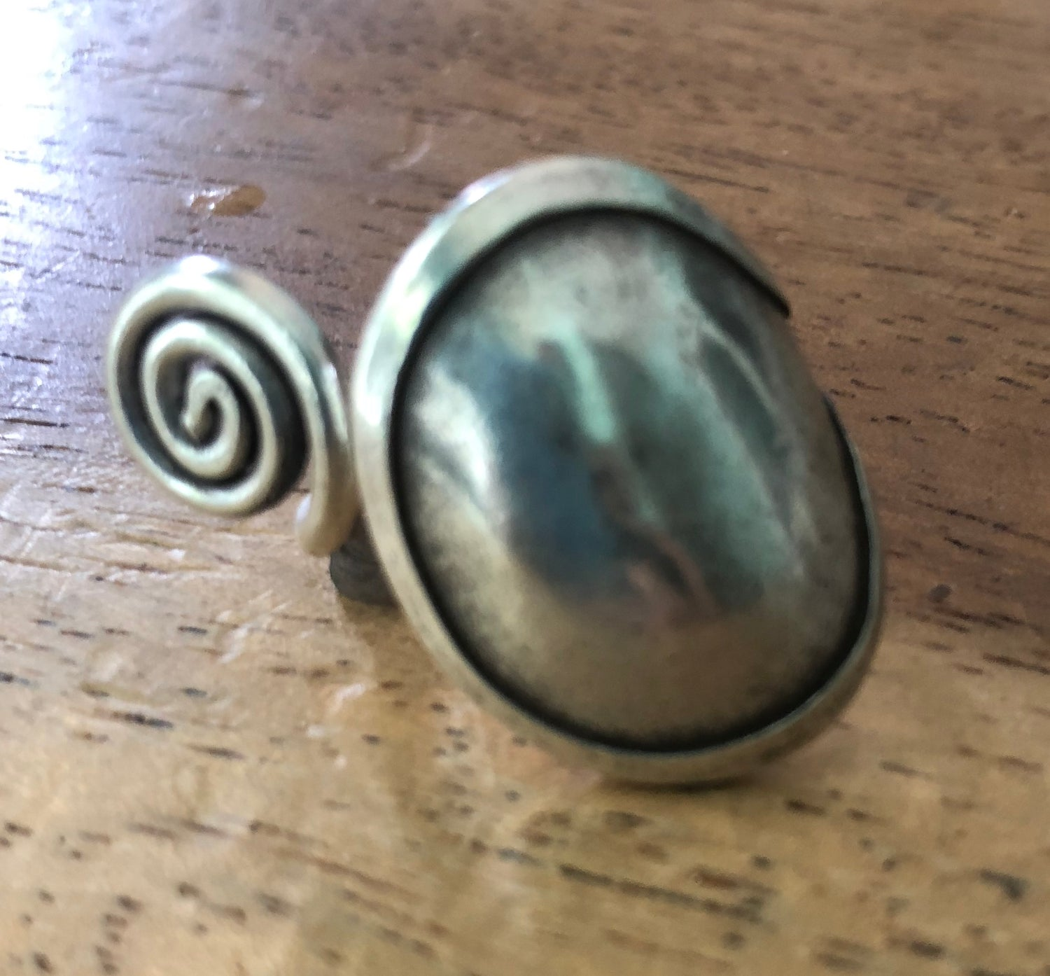 Handmade Sterling Silver Thai Hill Tribe Ring
