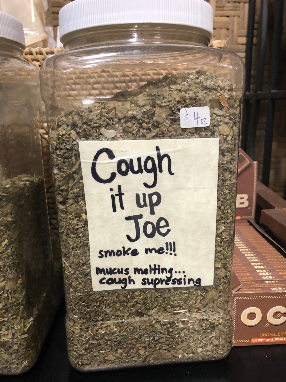 Cough it Up Joe- Smoking blend