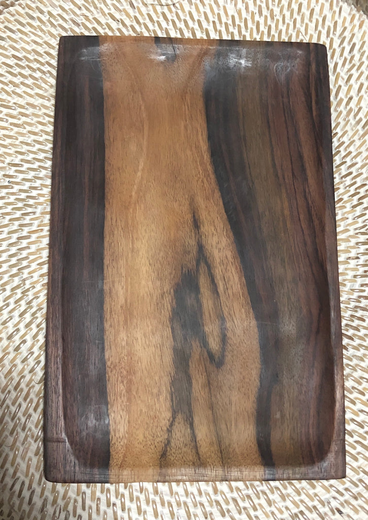 Sono Wood Serving Plate Platters 2 Sizes