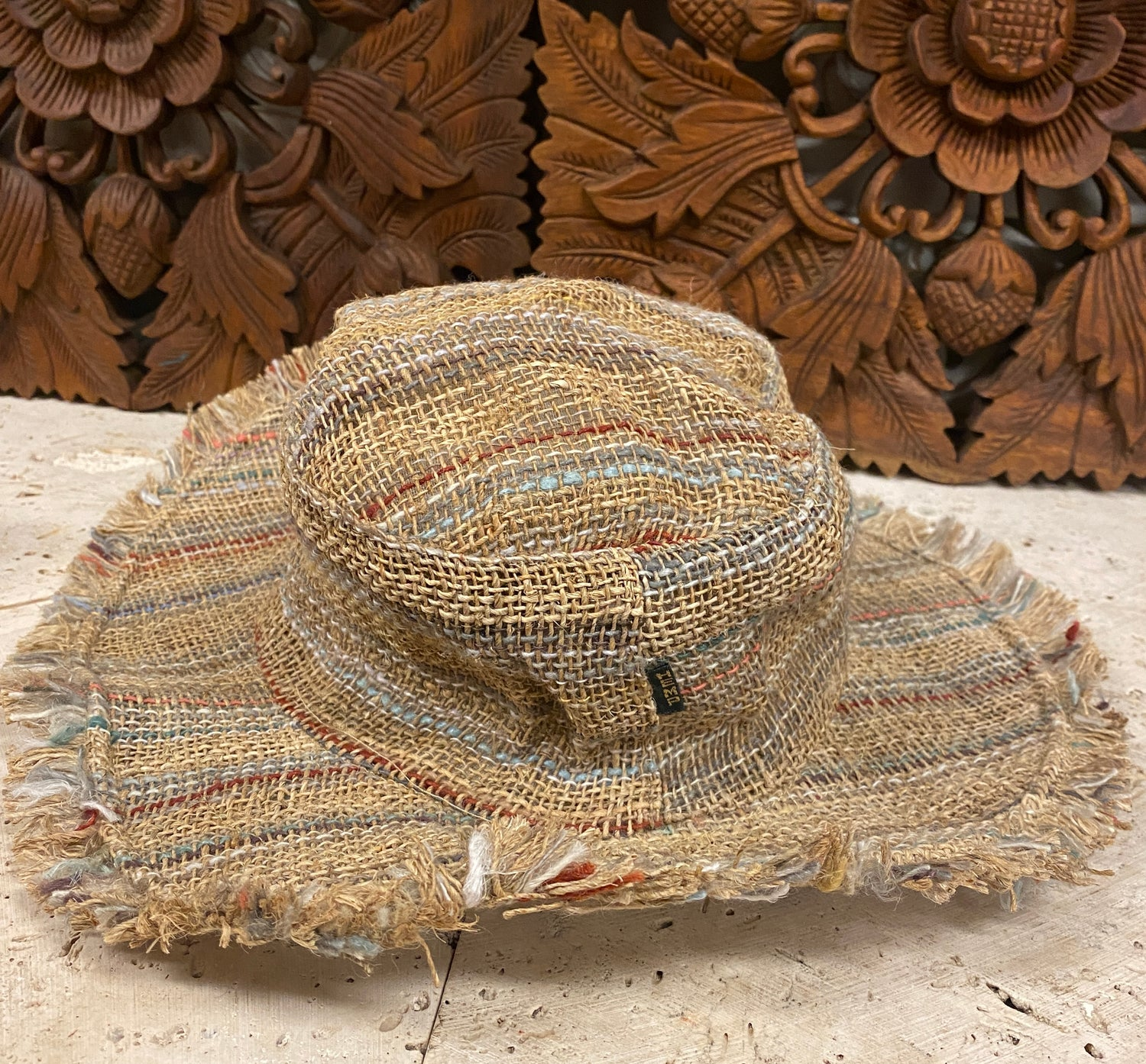 100% Hemp Moldable Floppy Festival Hats