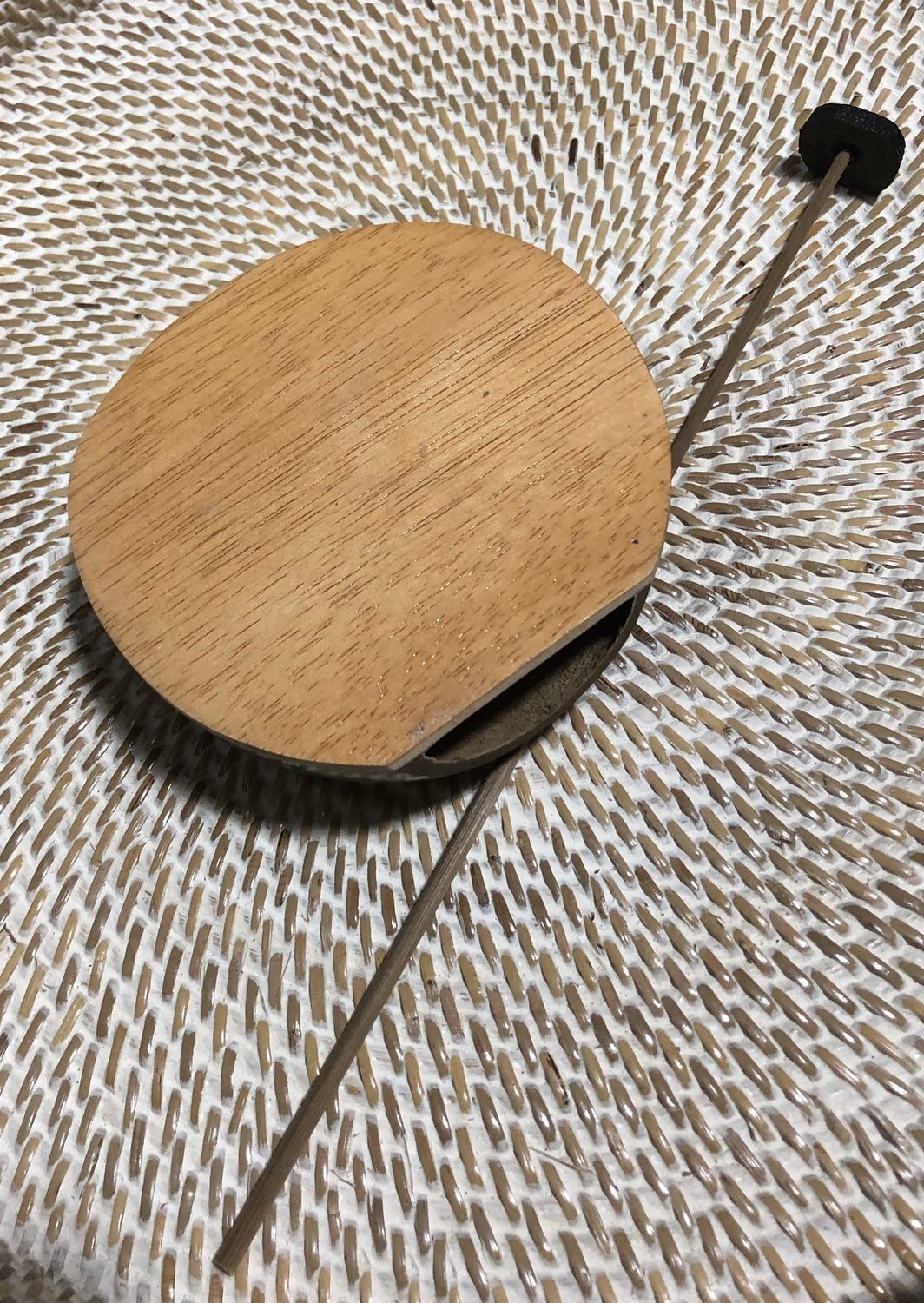 Coconut Shell Tongue Drum