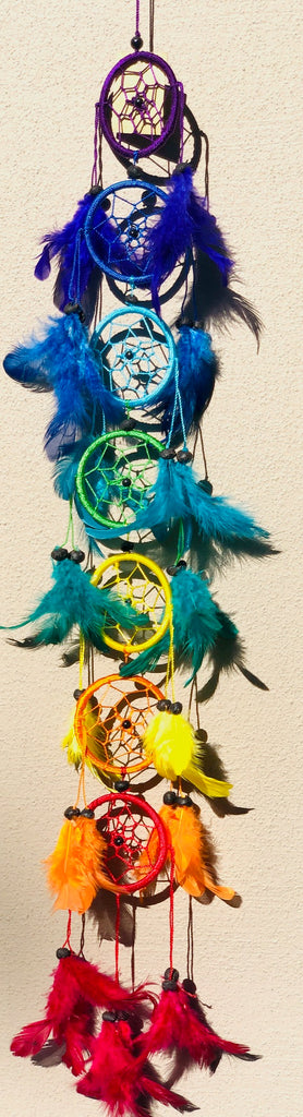 Rainbow Chakra Dream Catchers
