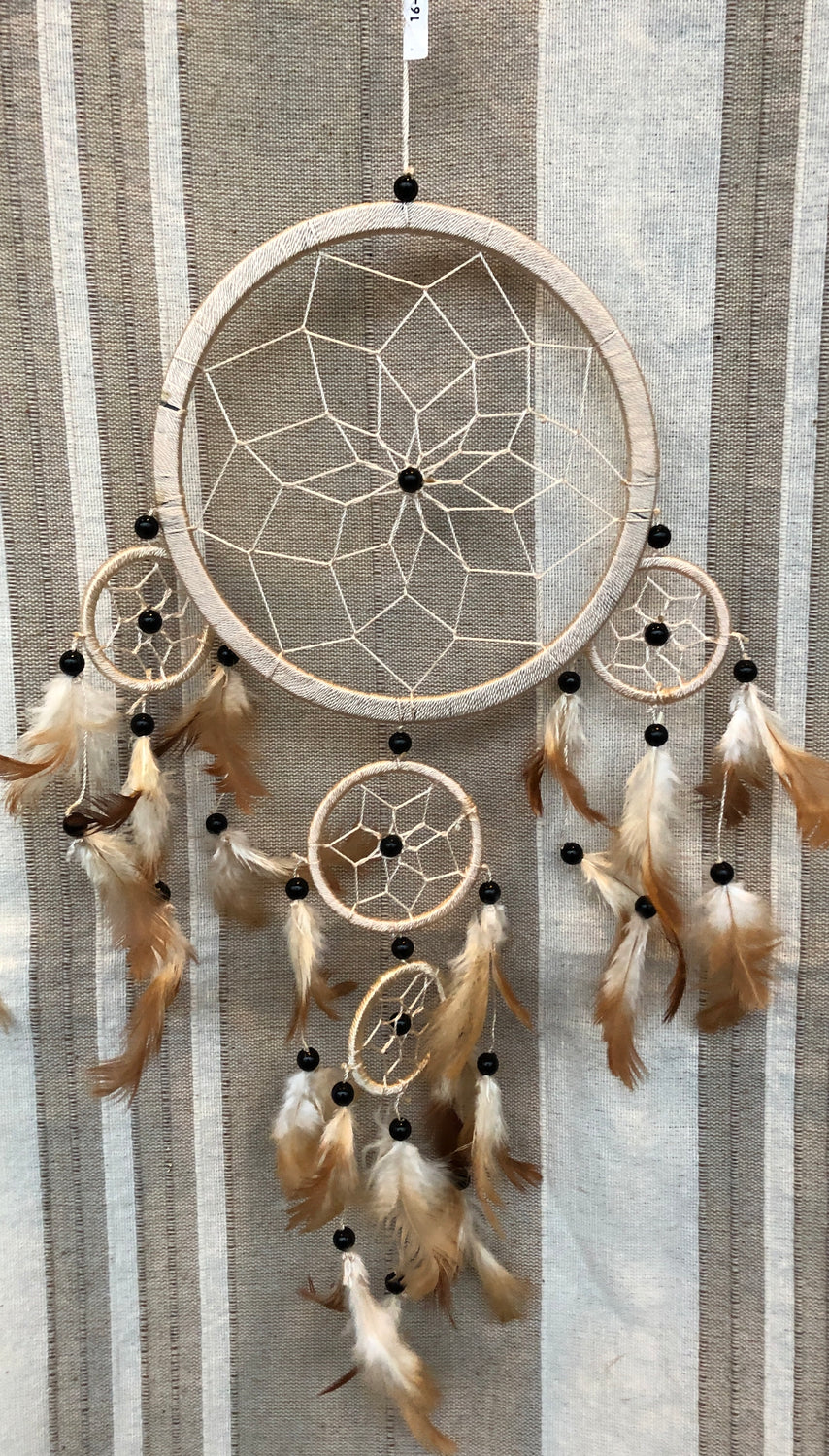 Dream Catchers 17 cm & 22 cm with 4 babies -10 colors
