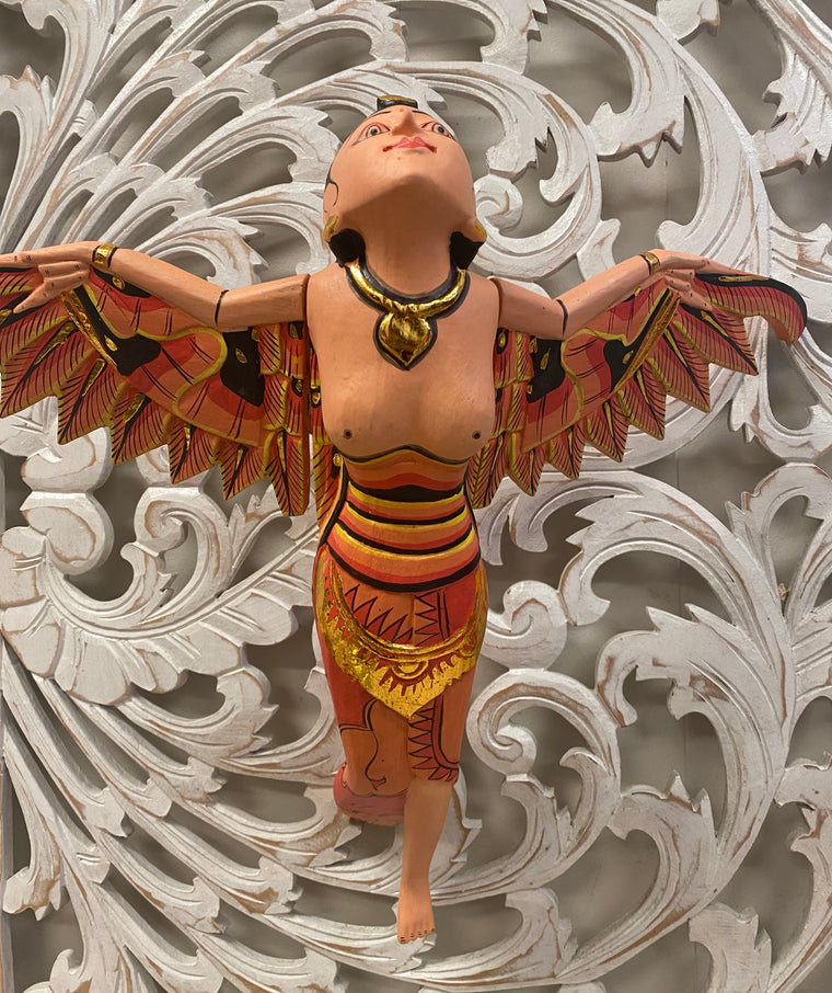 Hand Carved Flying Goddess Dewi Sri Spirit Chasers - Available in 2 colors & sizes