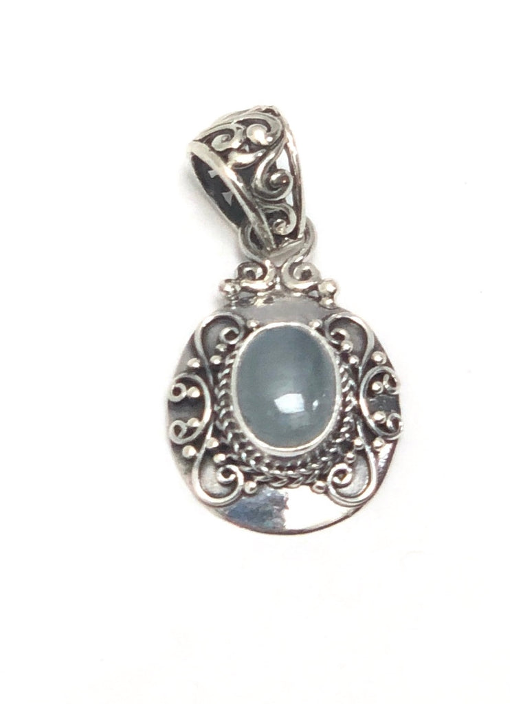 Hand Made Sterling Silver Pendants - Available in 12 Stones
