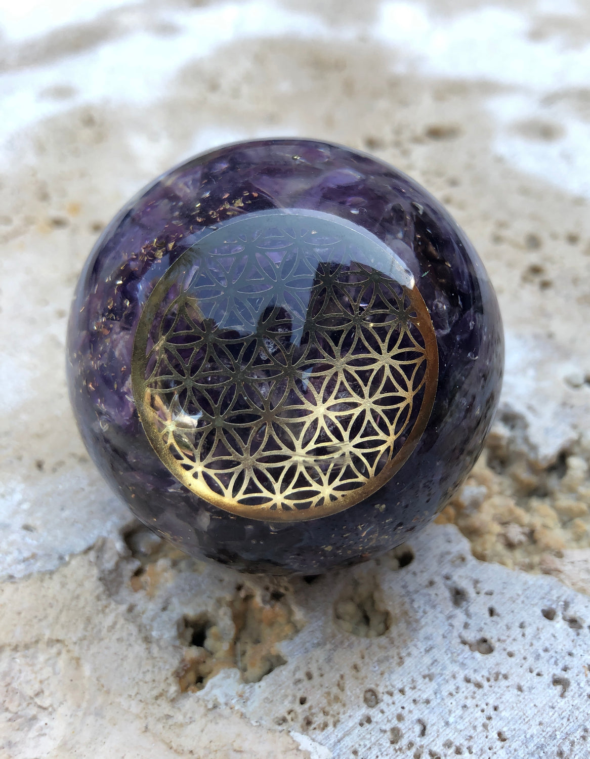 Orgonite Spheres - Flower of Life