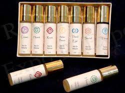 Natural Perfume Oils from India - Chakra Collection