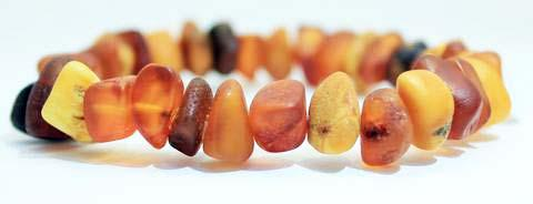 Natural Raw Baltic Amber Bracelet