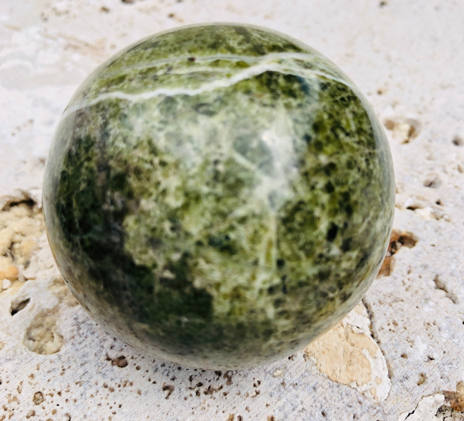 Vesuvianite (Grossular Garnet) Spheres from India
