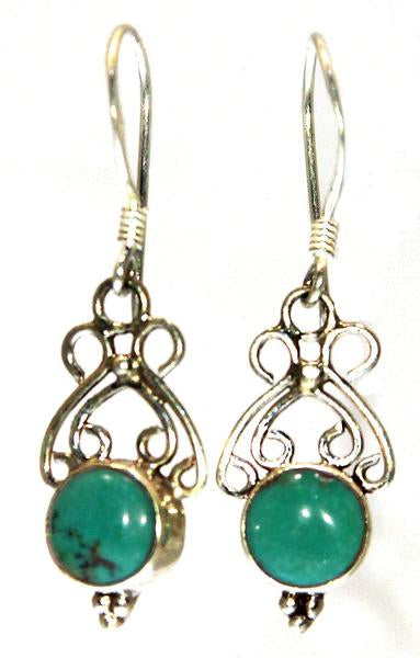 Sterling Silver  Earrings - Available in 2 Stones