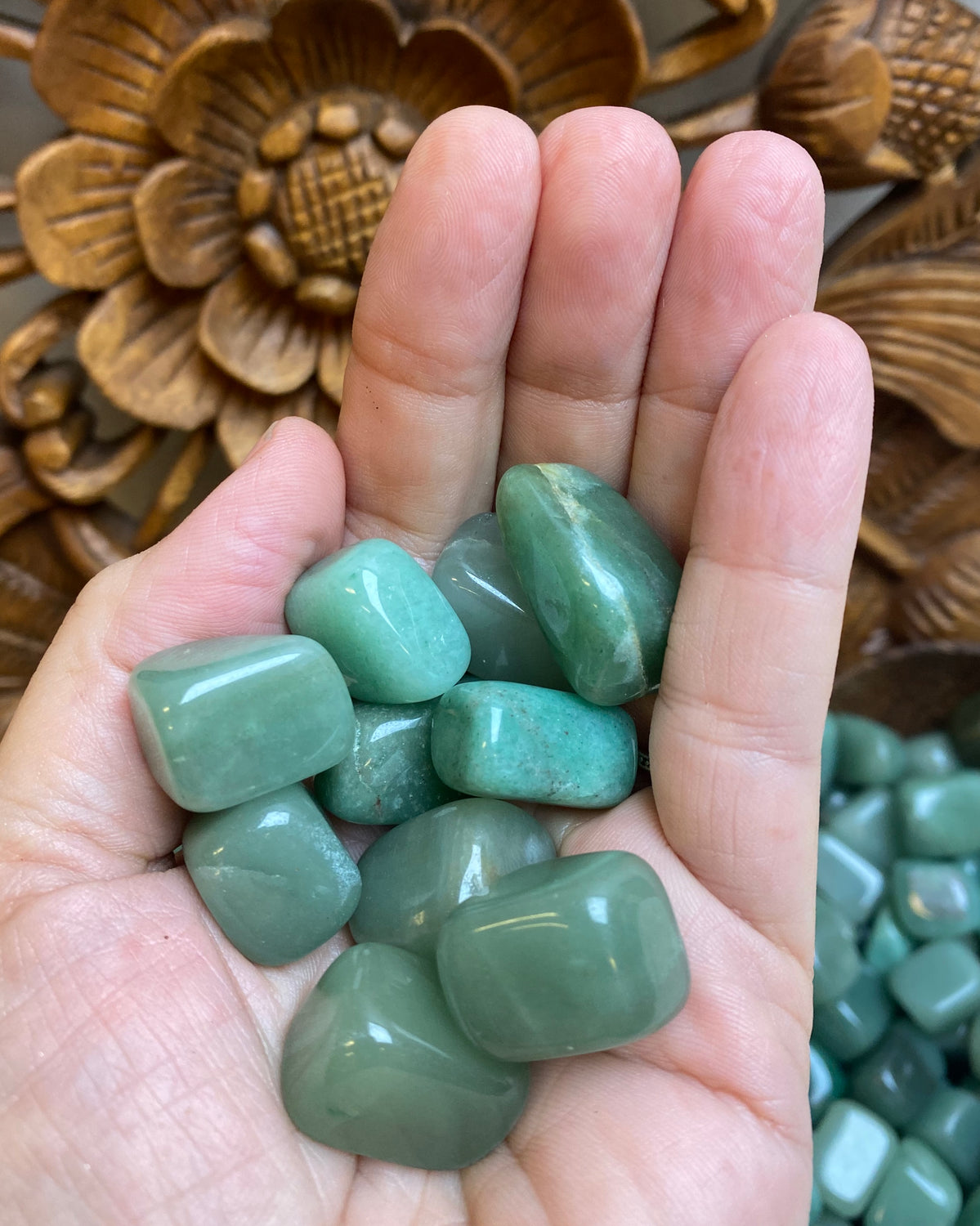 Green Aventurine Tumbles - 2 sizes available