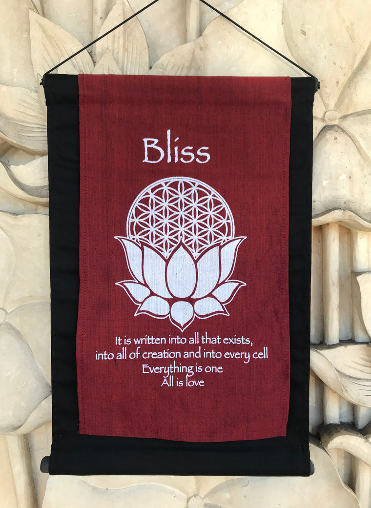 Hand Woven Ikat Bliss Decorative Banners