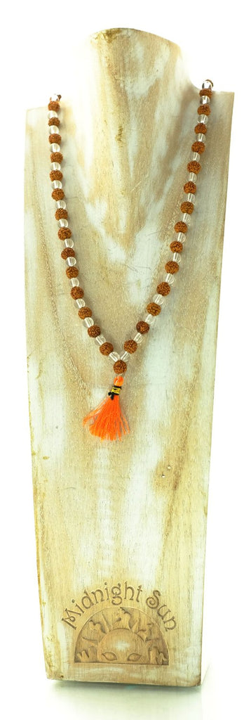 Rudraksha and Crystal Malas & Prayer Beads