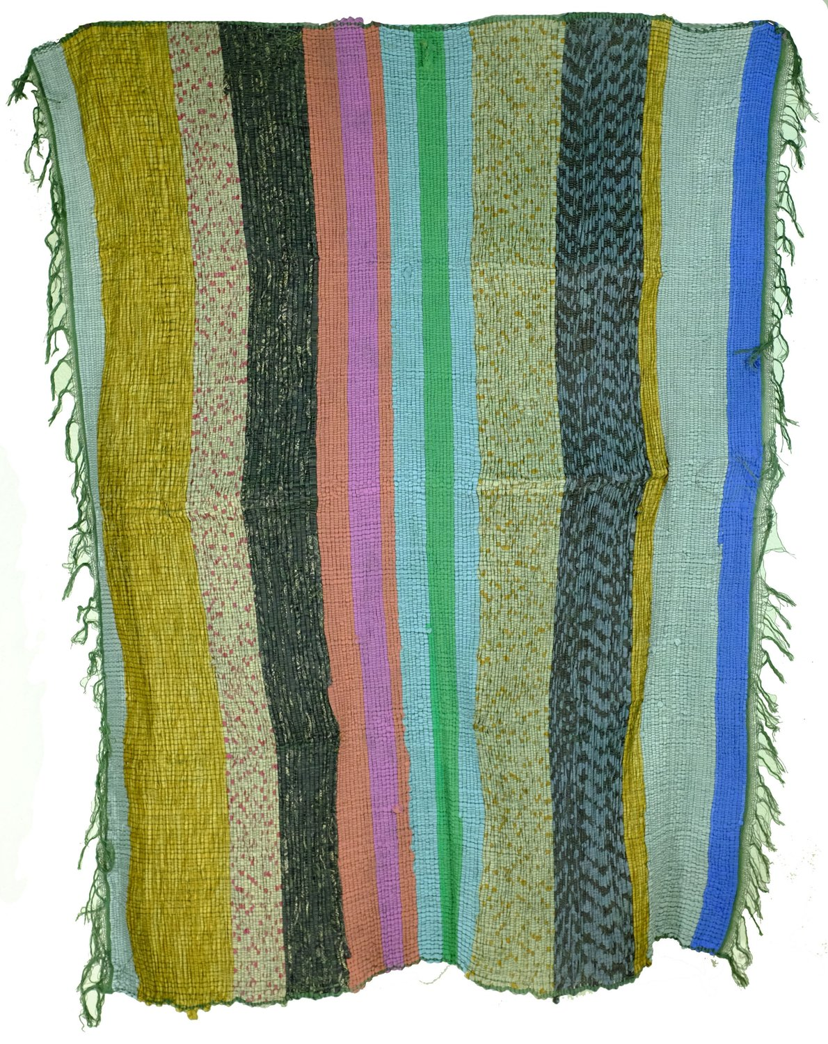 Rajasthani Upcycled Dhurrie Rugs from India