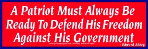 Full Size Bumper Stickers
