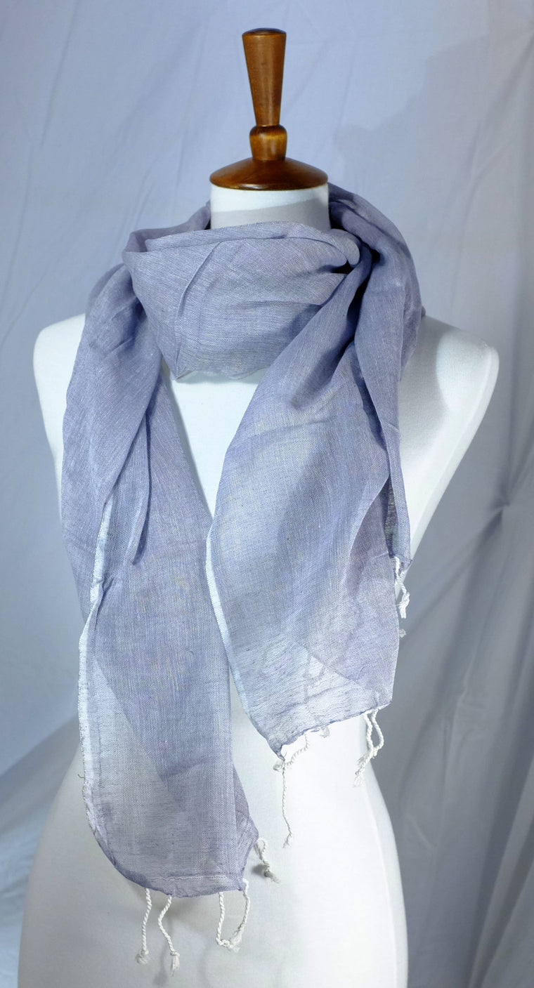 Light Weight Woven Cotton Scarves 5 Colors