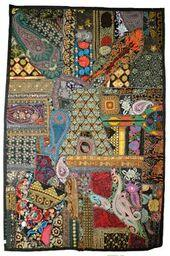 "Rajathani Patchwork Wall Hangings 39"" x 60"""