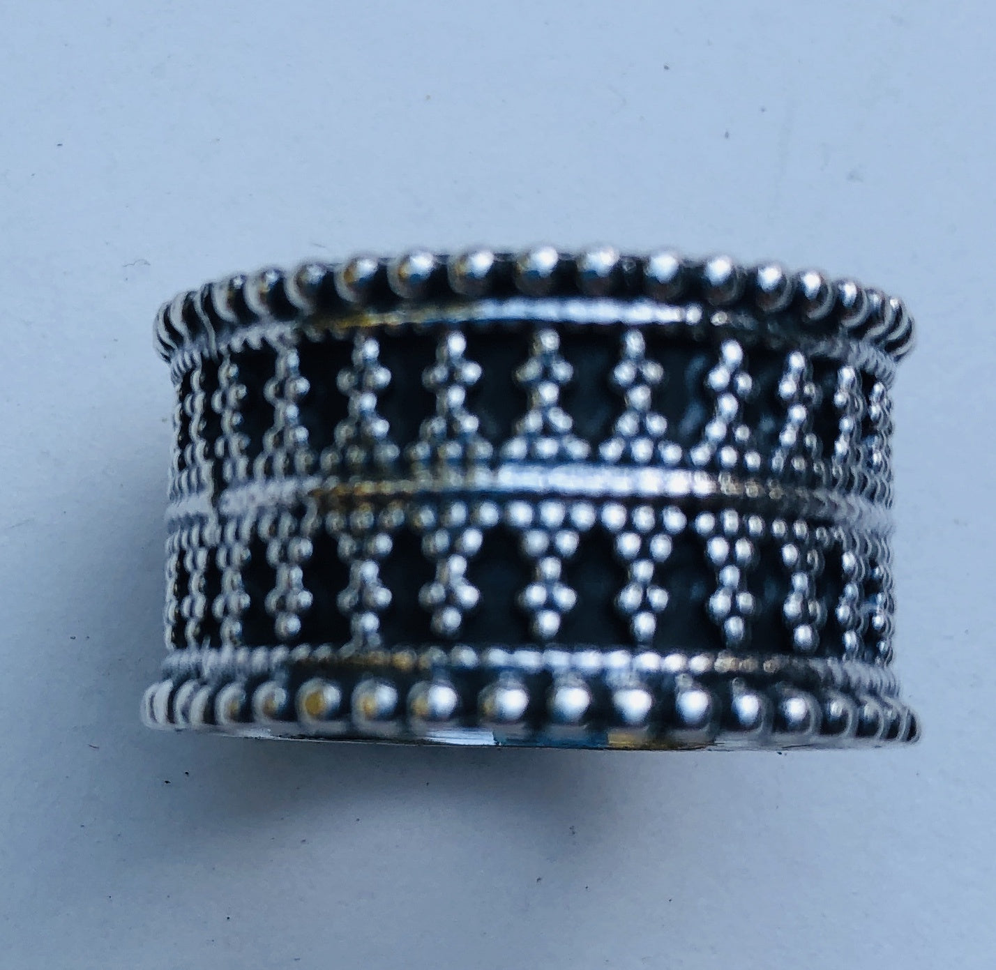 Sterling Silver Tribal Rajasthani ring