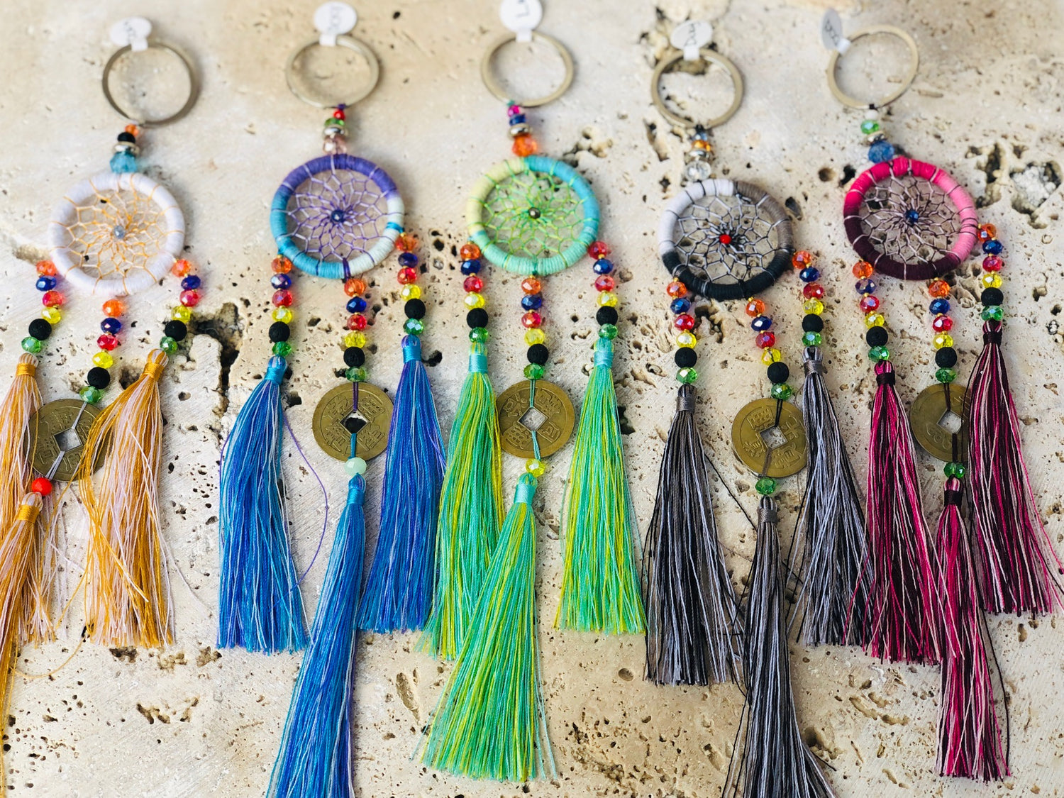 Dream Catcher Keychains - 2 styles