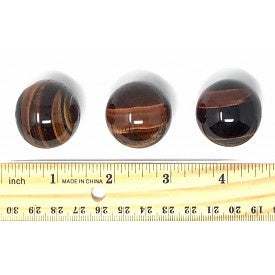 Red Tigers Eye Spheres 40mm