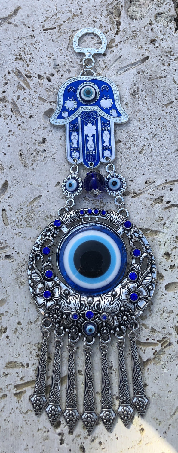 Hamsa and Evil Eye Wall Hangings