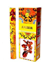 Shreevani Amber Incense 20 stick Hex Pack