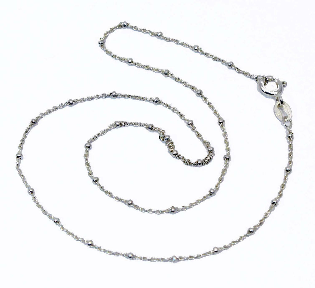 Sterling Silver Ball Chain .72 mm