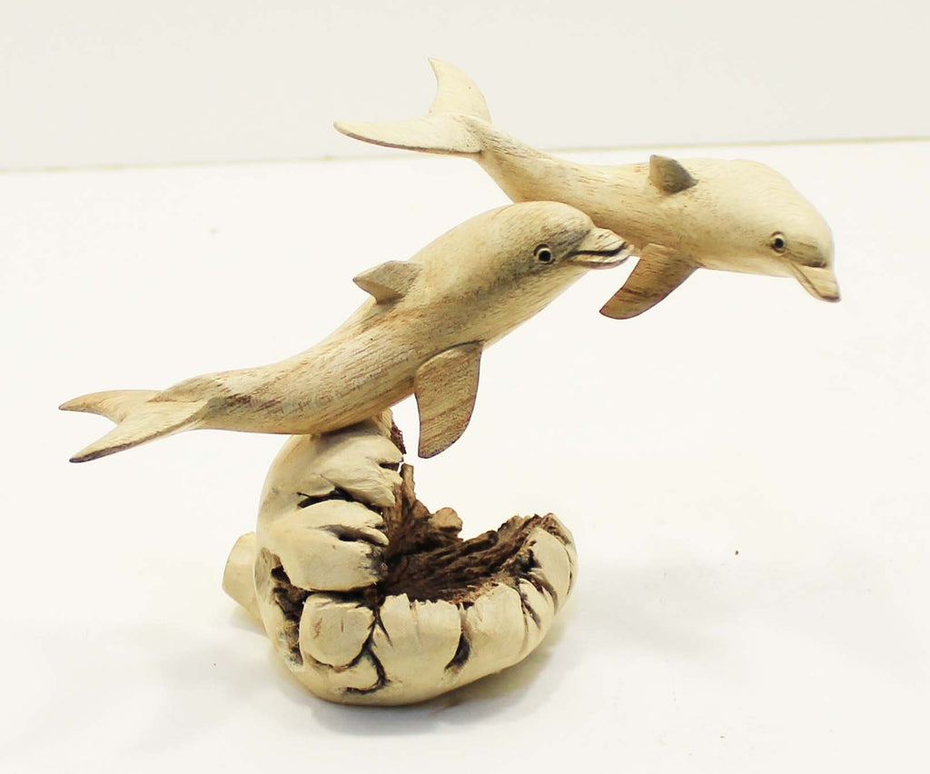 Parasite Wood Dolphin Carvings