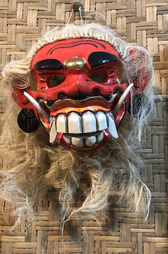 Wearable Hand Carved & Painted Masks